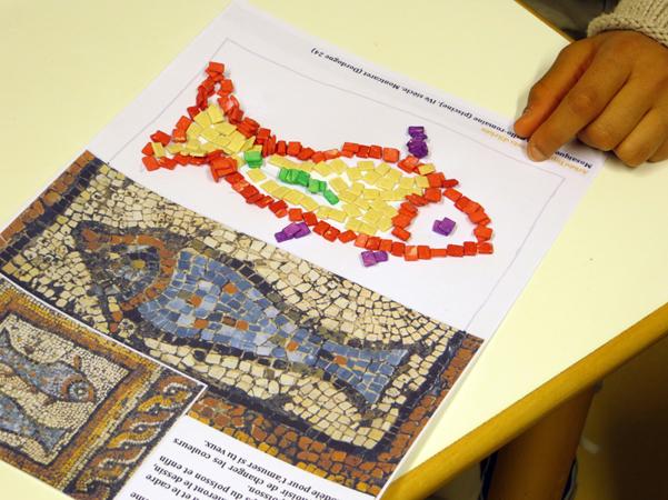 Ark otopia une autre voie pour l 39 arch ologie au temps - Modele mosaique a imprimer ...