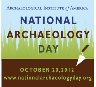 National Archaeology Day logo