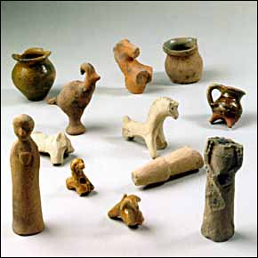 Medieval Toys from Carmelite friary excavations (Esslinger, Germany)