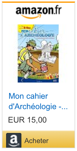 Buy My Archaeology Book, version 5-8 years old